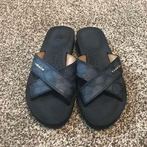 Coach Black Sandals | Size 6